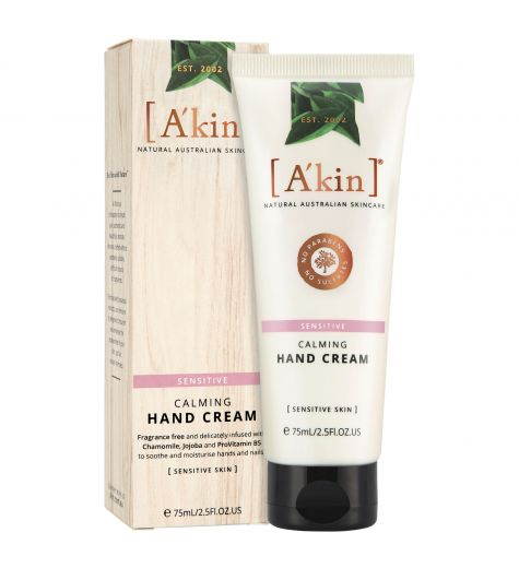 Akin Sensitive Calming Hand Cream 75ml