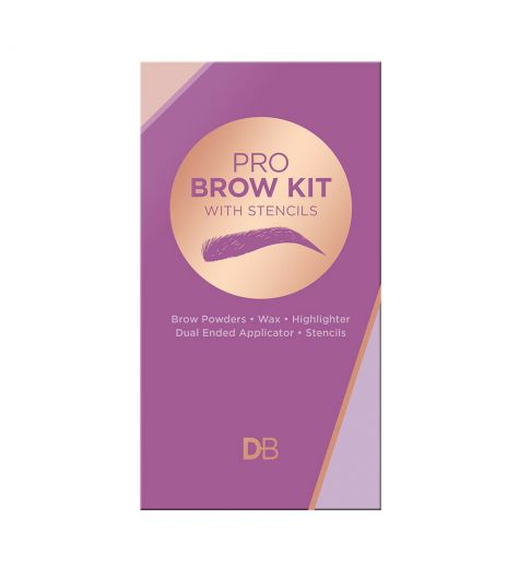 Designer Brands Pro Brow Kit With Stencils