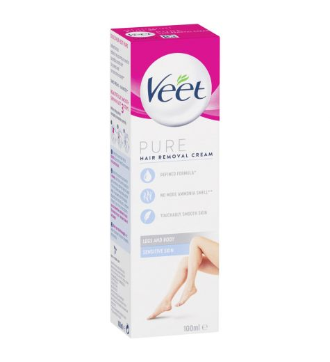 Veet Hair Removal Cream Silk & Fresh Technology Sensitive Skin 100ml