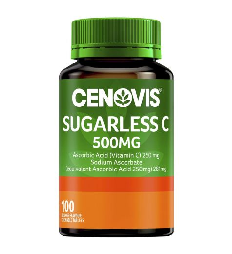 Cenovis Sugarless Vitamin C 500mg Tablets 100