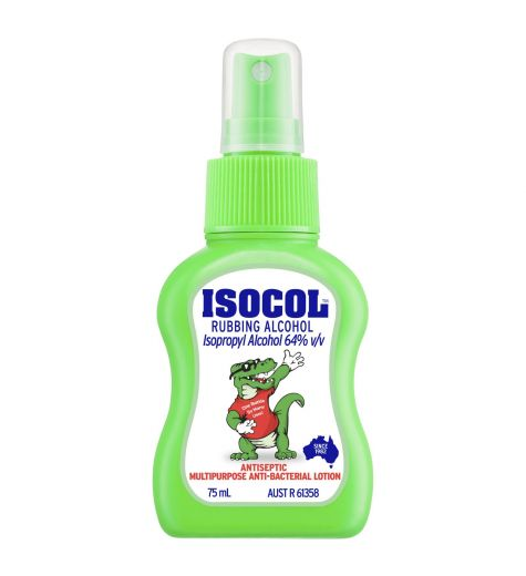 Isocol Rubbing Alcohol Antiseptic Spray 75ml