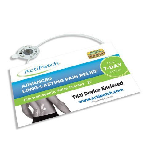 Actipatch Advanced Long Lasting Pain Relief 7 Day Trial Pack