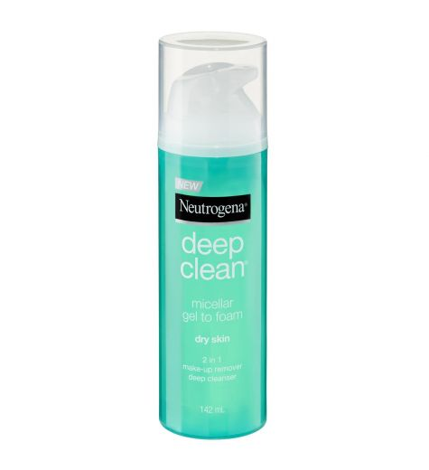Neutrogena Micellar Gel To Foam 2in1 Dry Skin Cleanser 142ml