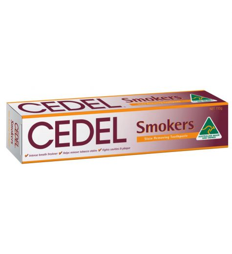 Cedel Smokers Stain Removing Toothpaste 110g
