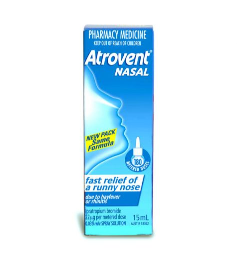 Atrovent Nasal Aqueous Spray 15ml