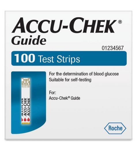 Accu-Chek Guide Test Strips 100