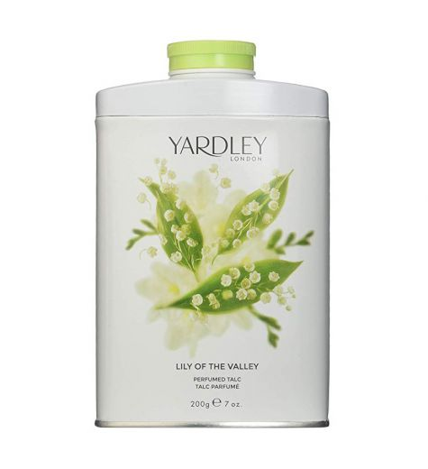 Yardley Lily Of The Valley Perfumed Body Talc 200g