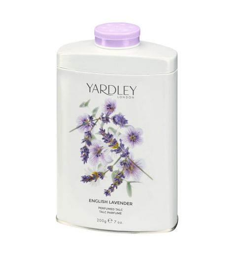 Yardley London English Lavender Perfumed Talc 200g