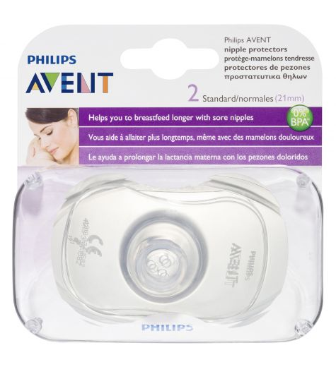 Avent Nipple Protector Standard 2 Pack