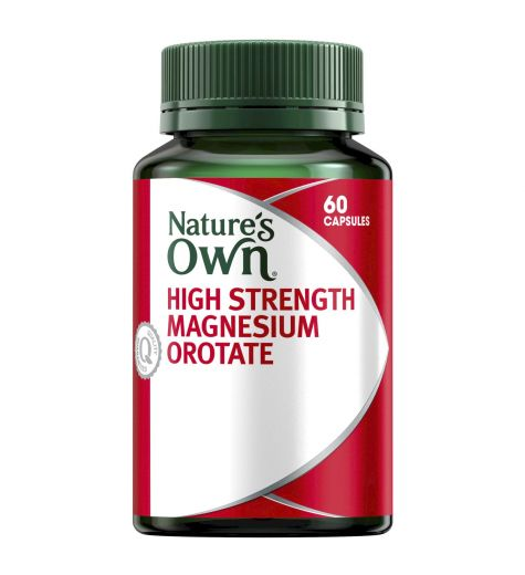 Natures Own High Strength Magnesium Orotate 60 Capsules