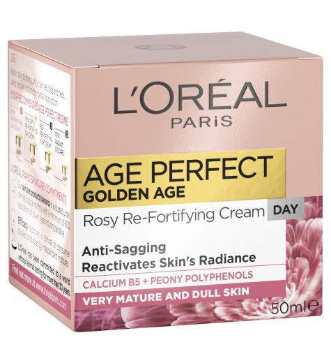 L'Oreal Age Perfect Golden Age Rosy Re-Densifying Day Cream 50ml