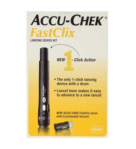 Accuchek Fast Clix Lancing Device Kit