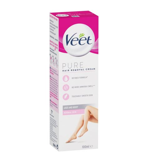 Veet Hair Removal Cream Silk & Fresh Technology Normal Skin 100ml
