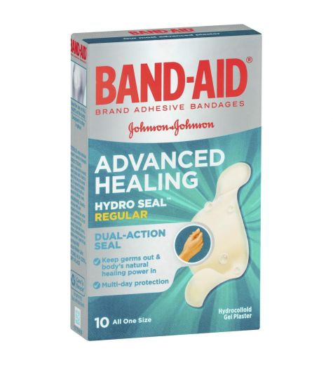 Band-Aid Advance Healing Regular 10