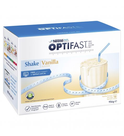 Optifast VLCD Shake Vanilla 18 x 53g