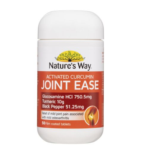 Natures Way Activated Curcumin Joint Ease Tablets 50