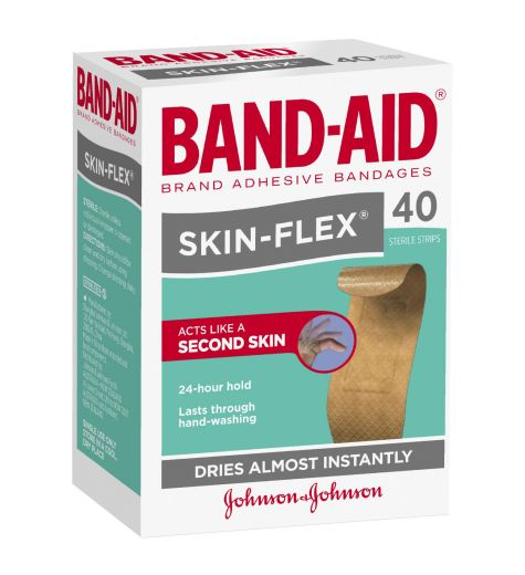 Band-Aid Skin Flex Regular 40 Pack