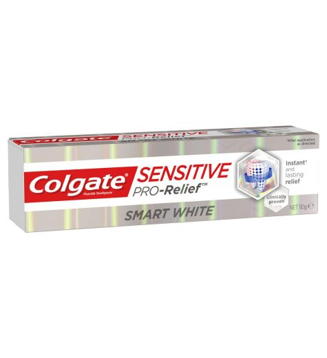 Colgate Pro Relief Smart White Toothpaste 110g