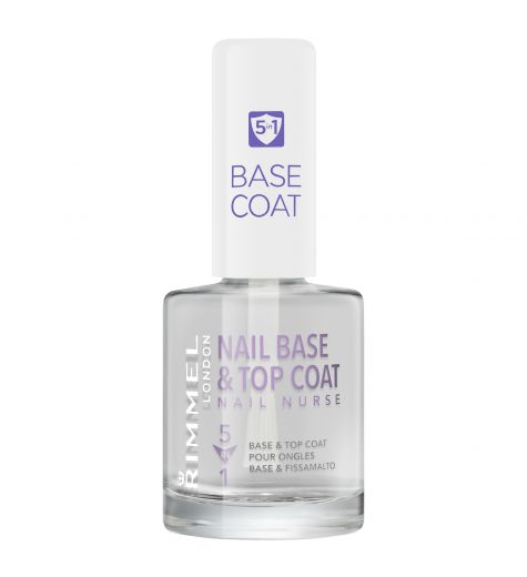 Rimmel Nail Nurse 5 in 1 Base and Top Coat