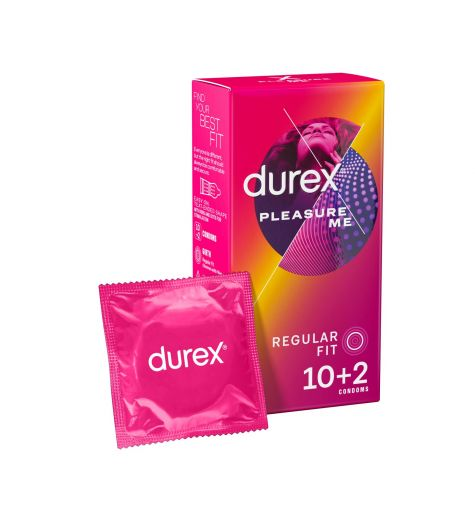 Durex Pleasure Me Condoms 10 Pack