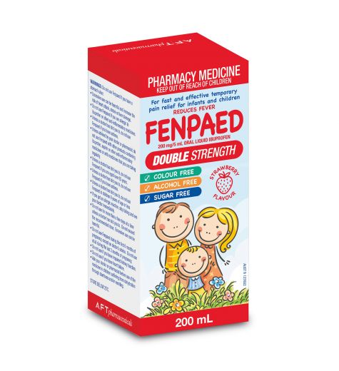 Fenpaed Double Strength Strawberry Flavour 200ml