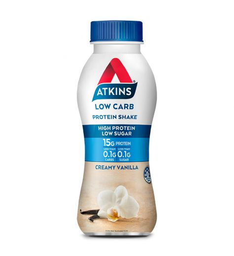 Atkins Low Carb Protein Shake Creamy Vanilla 330ml