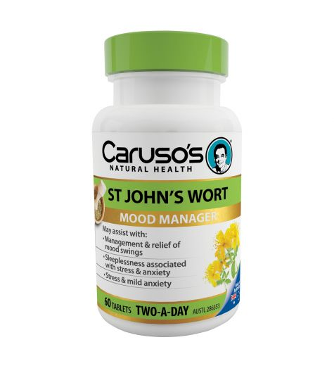 Caruso's Natural Health St John's Wort 60 Tablets