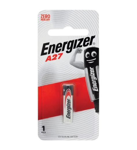 Energizer A27 1 Pack Alkaline Battery