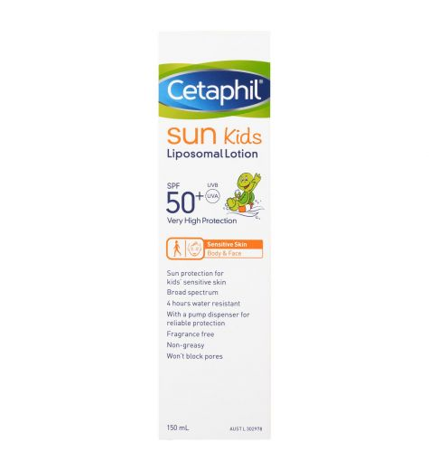 Cetaphil Sun Kids SPF 50+ Liposomal Lotion 150ml