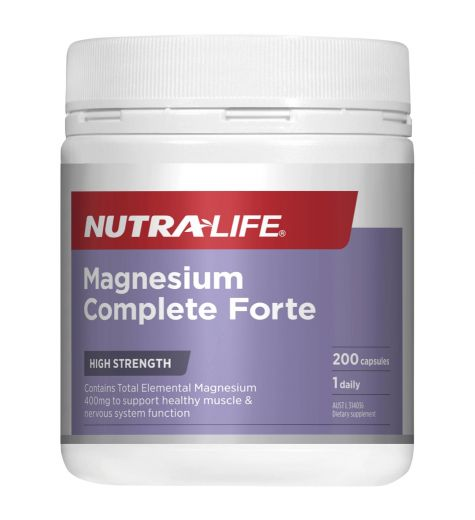 Nutra-Life Magnesium Forte Daily 200 Capsules