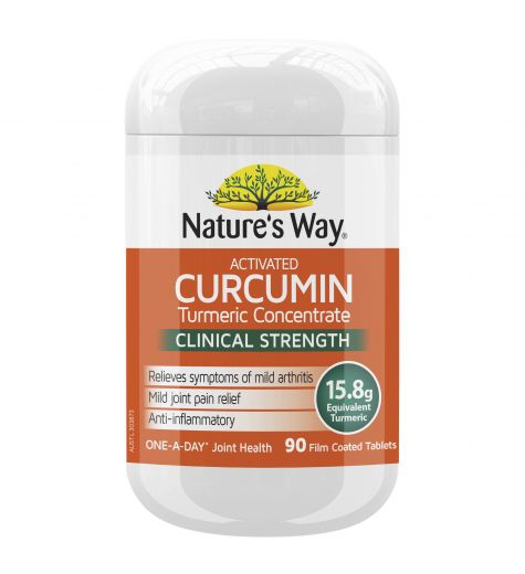 Nature's Way Activated Curcumin Clinical Strength 90 Tablets