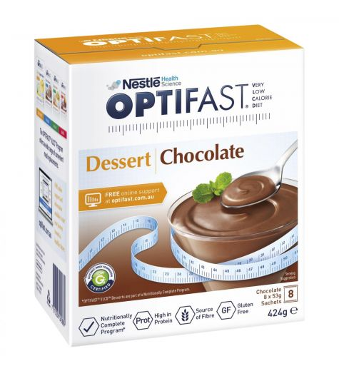 Optifast Dessert Chocolate 8 Sachets