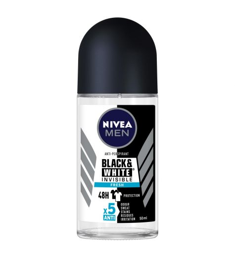 Nivea Men 48 Hour Invisible Fresh Anti-Perspirant Roll On 50ml
