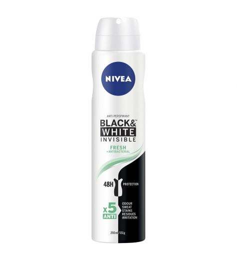 Nivea Women's 48H Invisible Fresh Anti-Perspirant 250ml
