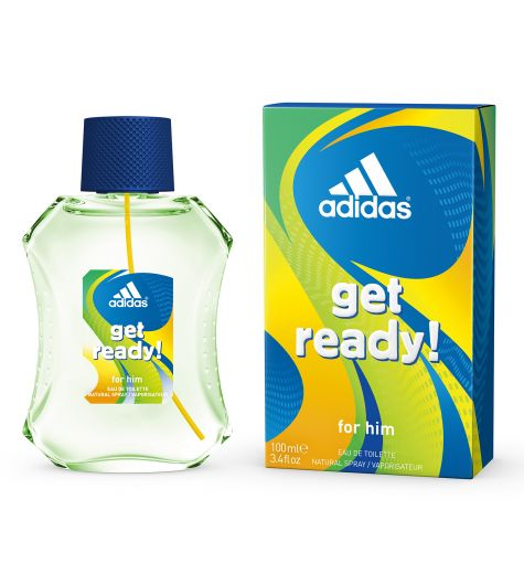 Adidas Get Ready 100ml EDT By Adidas (Mens)