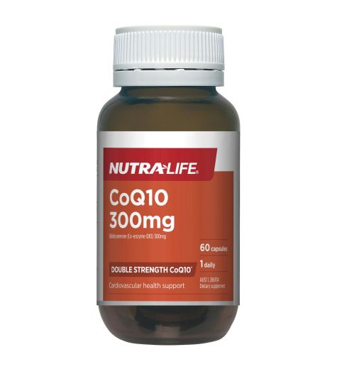 Nutra-Life CoQ10 300mg 60 Capsules