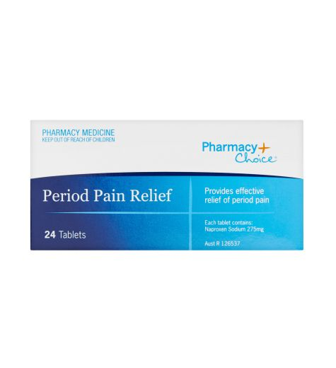 Pharmacy Choice Period Pain Relief Tablets 24 (Same as Naprogesic)