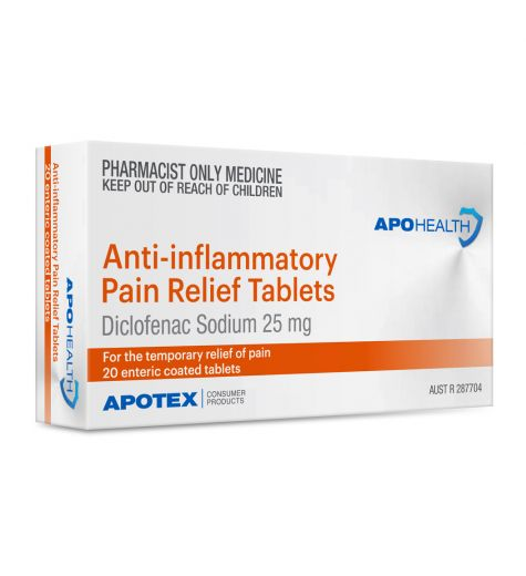 Apohealth Anti-Inflammatory Pain Relief Tablets 20