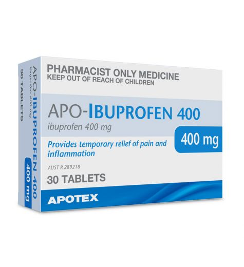 APO-Ibuprofen 400mg Tablets 30