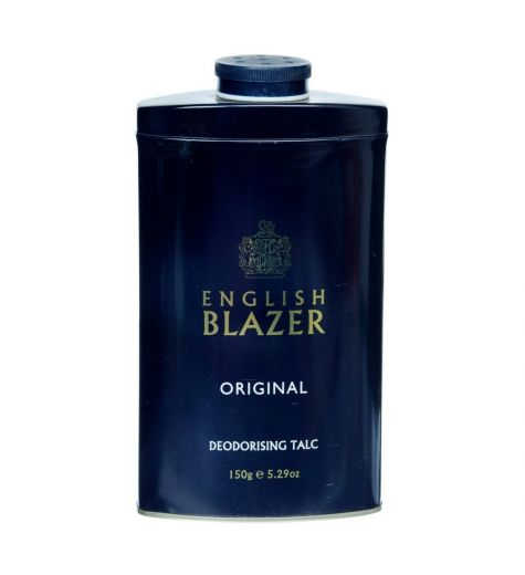 English Blazer Original Deodorising Talc 150g