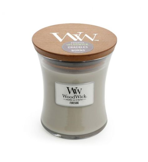 Woodwick Medium Fireside Scented Candle