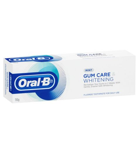 Oral B Gum Care & Whitening Toothpaste 110g