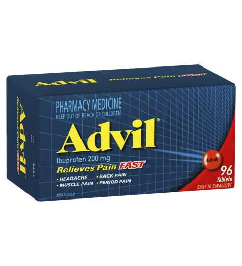 Advil Tablets 96