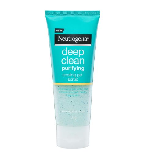 Neutrogena Deep Clean Purifying Cooling Gel Scrub 100ml