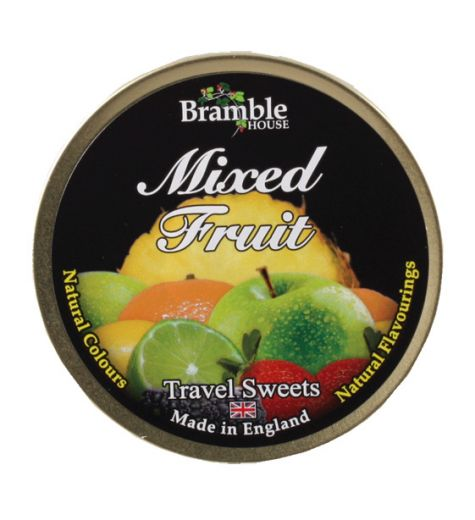 Bramble Mixed Fruit Travel Sweets 200g