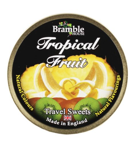 Bramble Tropical Fruit Travel Sweets 200g