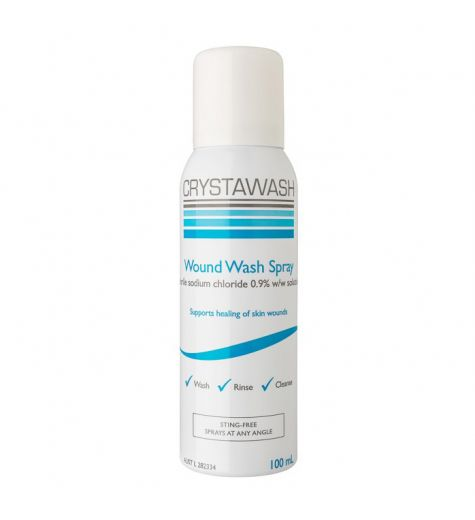 Crystawash Wound Wash Spray 100ml