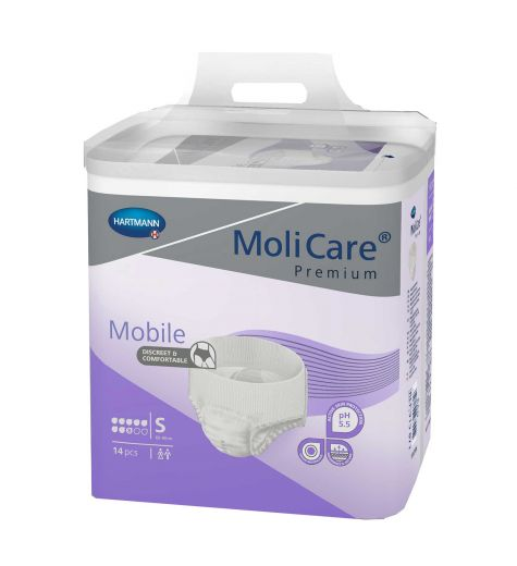 Molicare Premium Mobile 8D Small 14 Pack