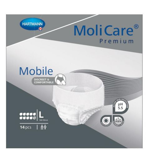 Molicare Premium Mobile 10 Drops Large 14 Pack