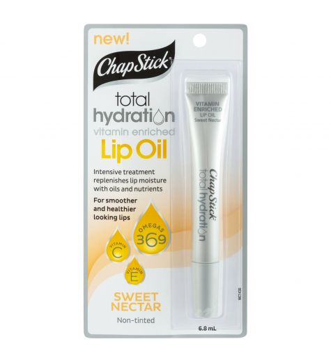 ChapStick Total Hydration Vitamin Enriched Lip Oil Sweet Nectar 6.8ml